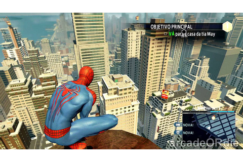 The Amazing Spider Man 2 (The Game) PS4 GAMEPLAY [HD ...