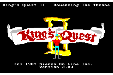 King\'s Quest II: Romancing The Throne : The Company ...