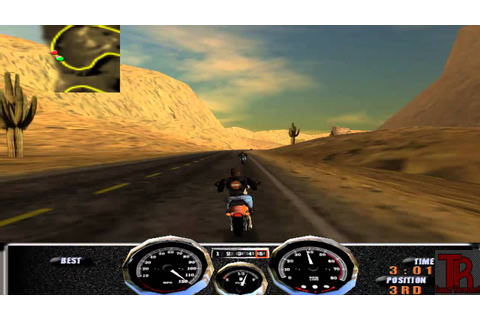 Harley Davidson: Race Across America gameplay - YouTube