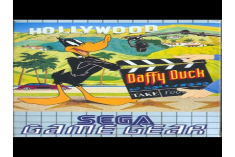 Daffy Duck In Hollywood - Game Gear (Gameplay) - YouTube