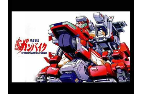 Speed Power Gunbike - Sora Ni Mukatte - YouTube