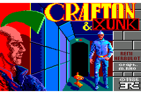 Crafton & Xunk (1986) by ERE Informatique Amstrad CPC game