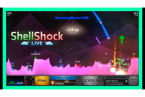 ShellShock Live - Let's Play #50 - MEGA NUKE & FIRESTORM ...
