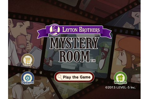 [iOS Hack] LAYTON BROTHERS MYSTERY ROOM Unlock Levels v1.0 ...