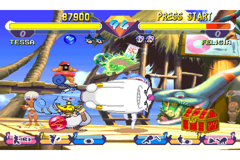 Super Gem Fighter Mini Mix (1997) Arcade game
