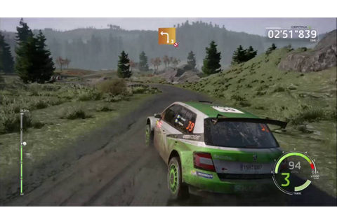 WRC 6 - Wales Rally Gameplay Xbox One - YouTube