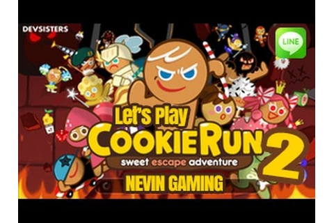 Let's Play COOKIE RUN #2 Android Line Game ( Nevin Gaming ...