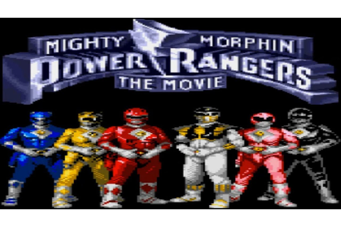 Mighty Morphin Power Rangers - The Movie (Game Gear) - YouTube