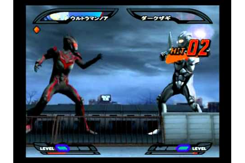 ultraman nexus game fight colections. - YouTube
