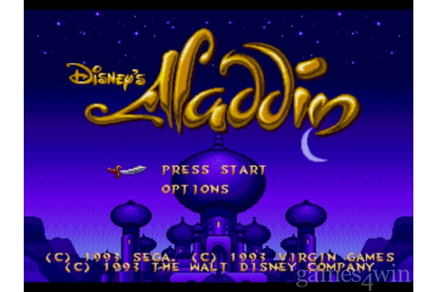 Aladdin. Download and Play Aladdin Game - Games4Win
