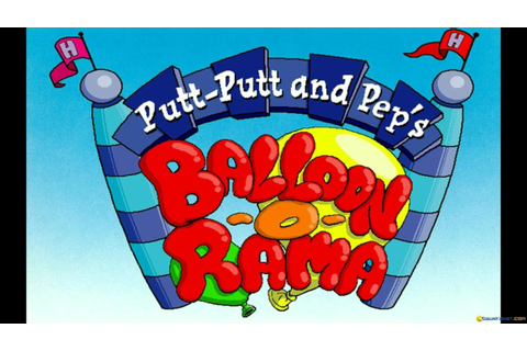 Putt-Putt and Pep's Balloon-o-Rama gameplay (PC Game, 1996 ...