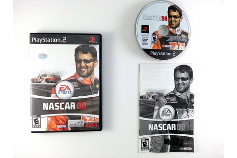 NASCAR 08 game for Playstation 2 (Complete) | The Game Guy