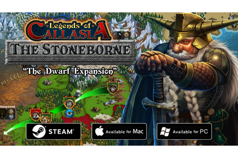 Legends of Callasia: The Stoneborne by Boomzap ...
