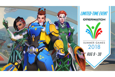 Overwatch Seasonal Event | Overwatch Summer Games 2018 ...