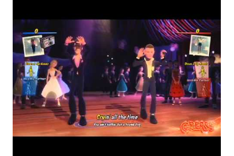 Grease video game trailer - X360 Kinect PS3 Move - YouTube