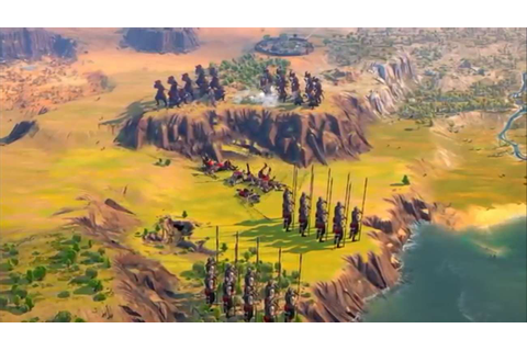 A New Gameplay Trailer For The Strategy Game Humankind Was ...