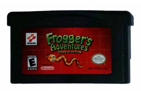 Buy Frogger's Adventures: Temple of the Frog Game Boy ...