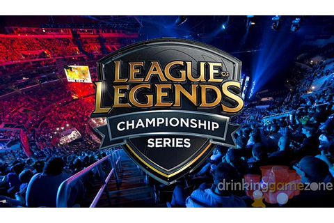LCS League of Legends Drinking Game