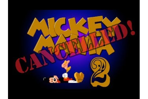 Prototype footage of cancelled Mickey Mania sequel : Games