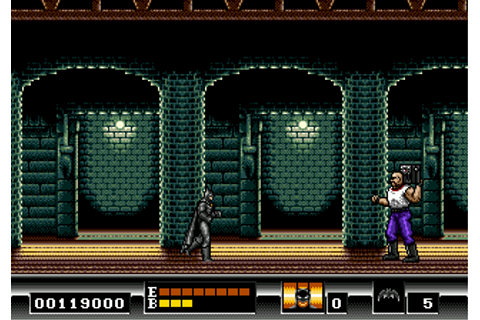 Batman: The Video Game Screenshots for Genesis - MobyGames