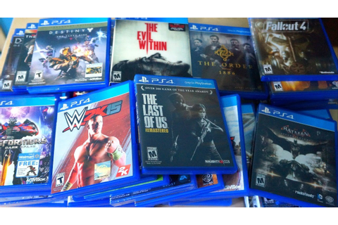PS4 Shifted Over 50 Million Games Globally Over the ...