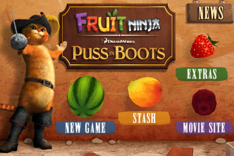Fruit Ninja: Puss in Boots Is a Pop-Culture Mash-Up ...