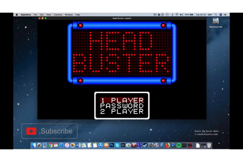 How To Install Head Buster On MAC? Sega Game Gear - YouTube