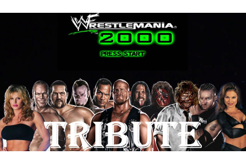 WWF Wrestlemania 2000: A Wrestling Game Tribute - YouTube