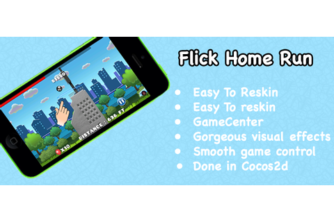 Buy Flick Home Run For iOS | Chupamobile.com