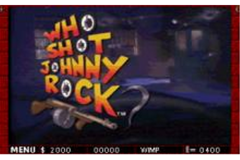 Who Shot Johnny Rock? Download (1994 Arcade action Game)