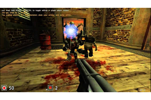 Cube 2: Sauerbraten (Free FPS Game! - download) - YouTube