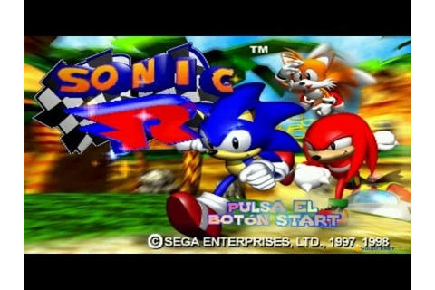 Sonic R gameplay (PC Game, 1997) - YouTube