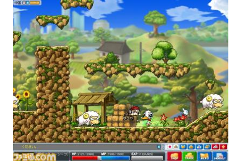 MapleStory DS Nintendo DS Screens and Art Gallery - Cubed3