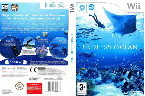 Mega Covers Gtba: Endless Ocean - Capa Game Wii