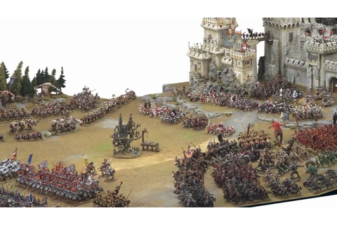 Warhammer Commentaries - Warhammer Battles - YouTube