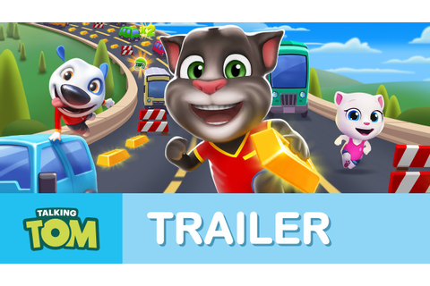 Talking Tom Gold Run - Official Launch Trailer - YouTube