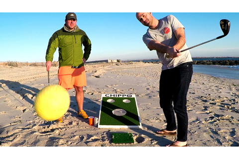 CHIPPO: The New Golf Game for Beach, Backyard & Tailgate ...