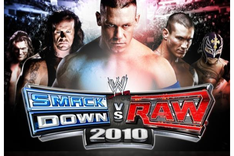 WWE SmackDown vs. Raw 2010 - WWE Games & Wrestling Games ...