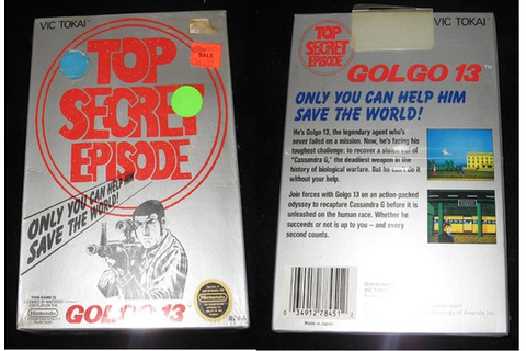 Golgo 13 Top Secret Episode Vintage by ClaudysCollectibles