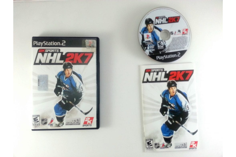 NHL 2K7 game for Playstation 2 (Complete) | The Game Guy