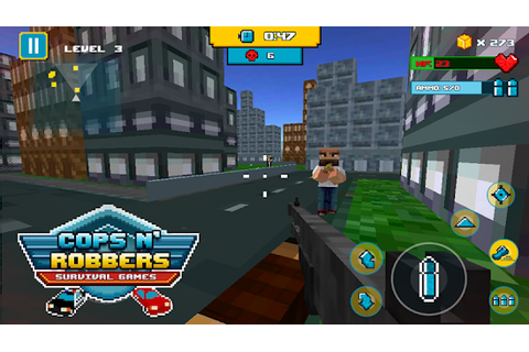Cops N Robbers Survival Game APK C18 - Free Action Apps ...