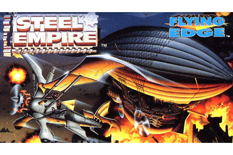 Classic Game Room - STEEL EMPIRE review for Sega Genesis ...