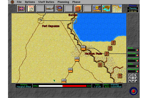 Скриншоты Operation Crusader на Old-Games.RU