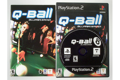 Q-BALL BILLIARDS MASTER PS2 PLAYSTATION 2 COMPLETE ...