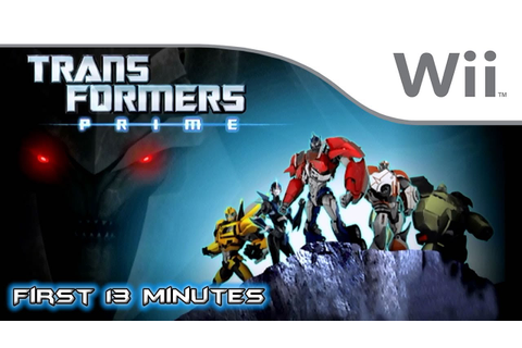 Transformers Prime: The Game - First 13 Minutes [Wii ...