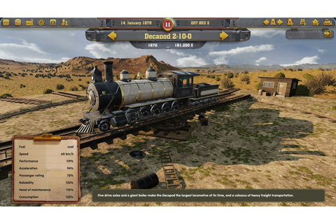 Train tycoon sim Railway Empire on track for January ...