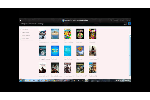 Games For Windows Live Marketplace Games (March,9,2011 ...