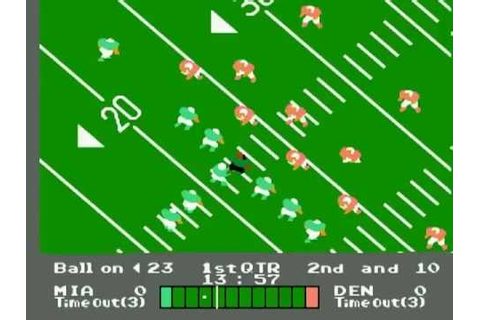 Nintendo Entertainment System NES Play Action Football USA ...