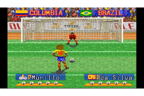 International Superstar Soccer Deluxe (SNES 1995) Penalty ...