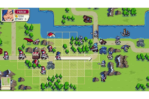 Wargroove – Fantasy Advance Wars Game Coming to Switch ...